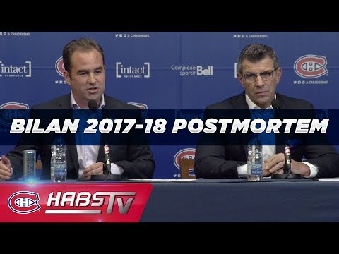 Geoff Molson and Marc Bergevin's full end of season press conference (2017-18)