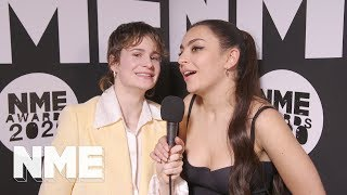 Charli XCX and Christine & The Queens tease future collabs at the NME Awards 2020