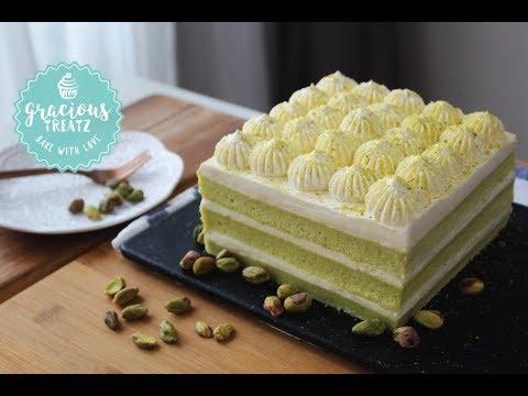 Cotton Soft Pistachio Sponge Cake