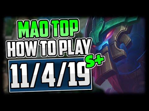How to Play Maokai Top & CARRY NEW World Breaker Maokai! - S+ Maokai Commentary Guide LoL Season 10