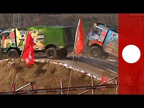 Monster Truck driving: China cross-country 'Super Trucks' race kicks off