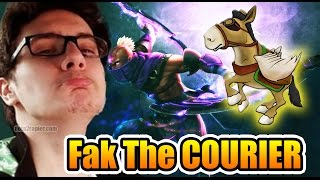 Miracle- Dota 2 - You Can Never KiLL The COURIER