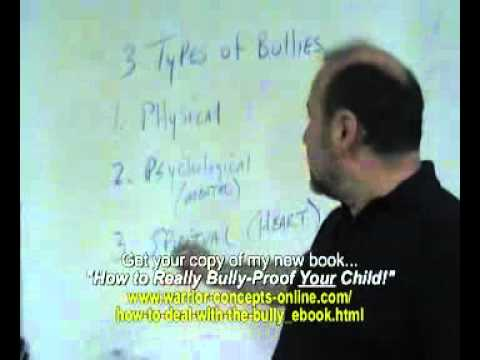 how to deal with a cry bully