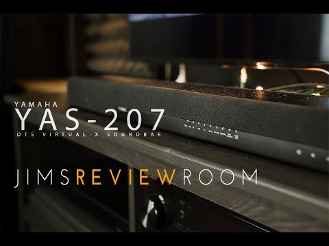 Yamaha YAS-207 with DTS : VIRTUAL X ! - REVIEW