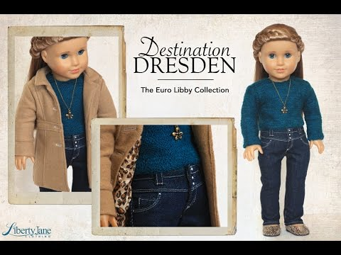 Liberty Jane Destination Dresden Outfit for 18 Inch American Girl Dolls