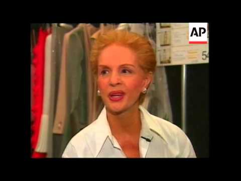 New York Fashion: Carolina Herrera and Betsey Johnson