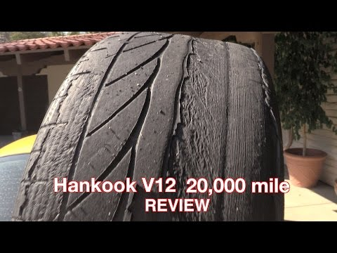 Hankook V12 Review - 20,000 Miles