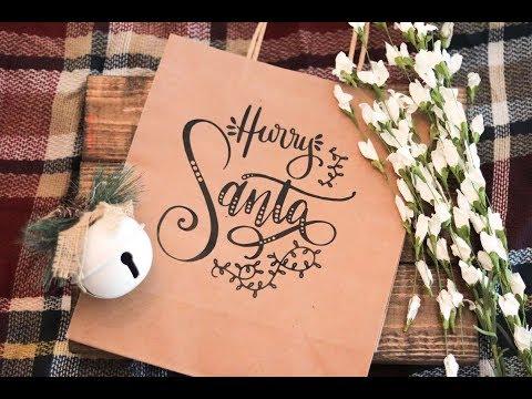 Create Custom Gift Bags with HTV