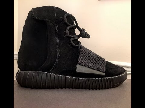 adidas Yeezy Boost 750 Noir Review Unboxing Legit Check Most