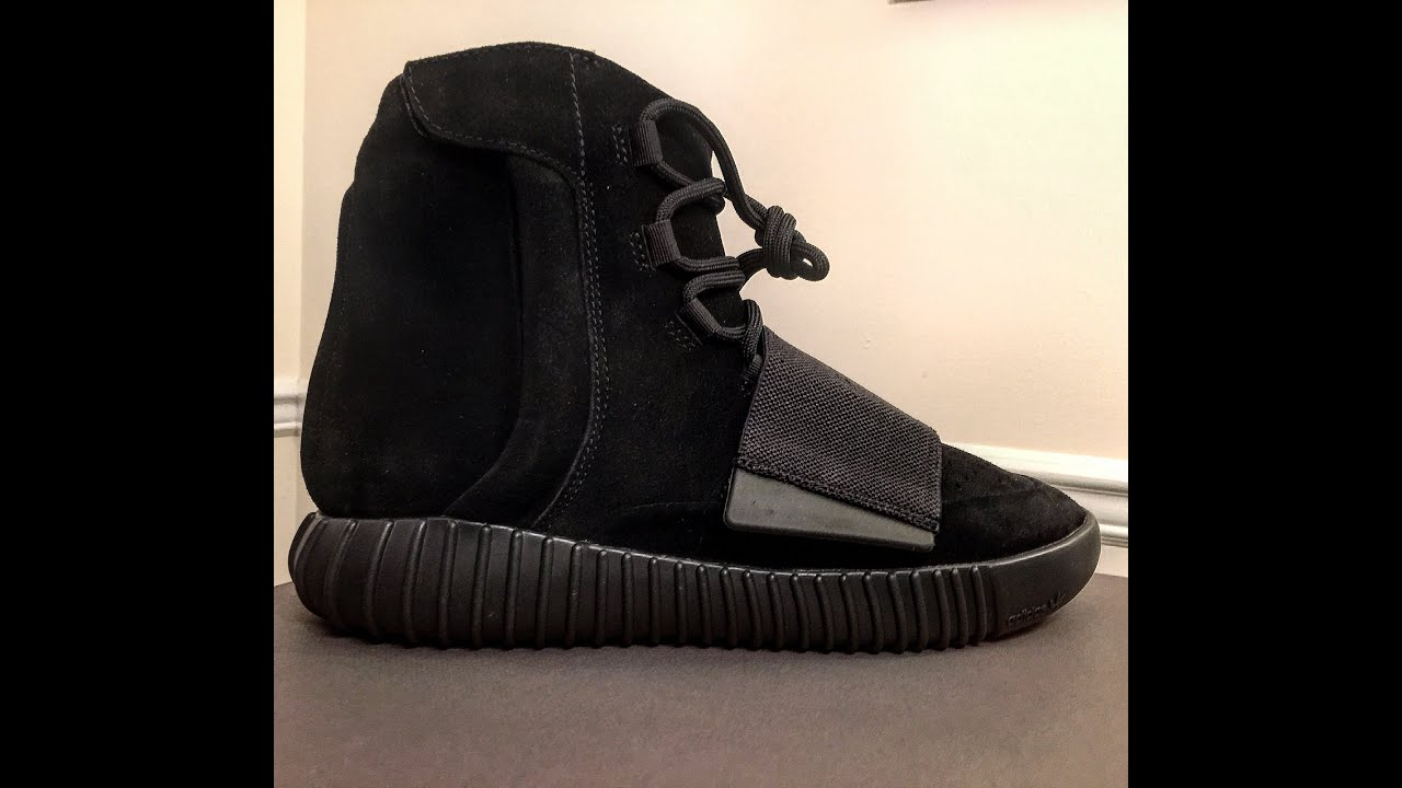 Adidas yeezy impulso 750 nero revisione unboxing & legale controllare su youtube