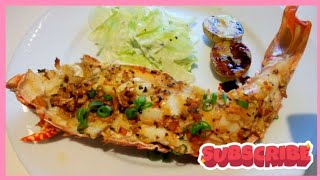 Grilled Lobster with Garlic Butter Sauce (OFW)