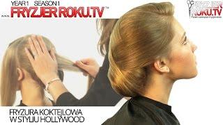 Jak zrobić piękne uczesanie w stylu Hollywood? Hollywood hairstyle FryzjerRoku.tv