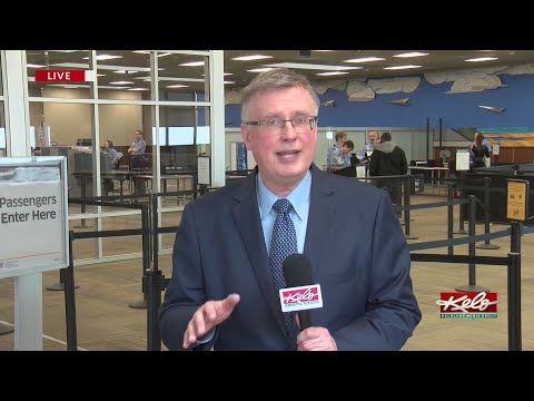 Midday Report From Sioux Falls Regional Airport