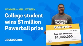 College student wins $1M Powerball prize via Jackpocket Lottery App