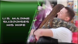 US Marine Surprises Wife | Static Comes Home