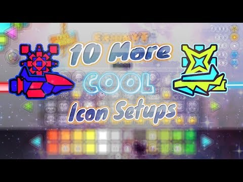 10 MORE Cool Icon Setups ~ Geometry Dash