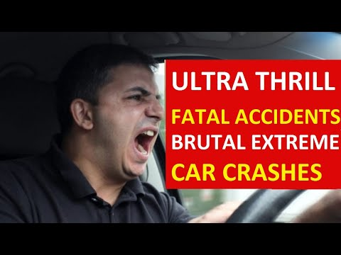 Extreme Crazy Car Crash Compilation # 19: December 2019 - Fatal Horrible Driving Fails Video