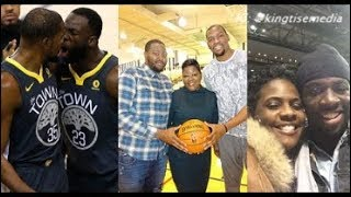 Kevin Durant's Brother & Draymond Green's Mom EXPOSES The Truth About Their Fight & Suspension