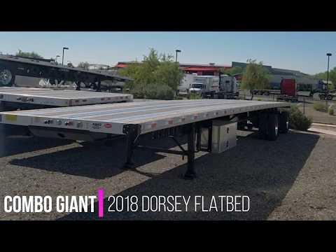hqdefault?sqp= oaymwEWCMQBEG5IWvKriqkDCQgBFQAAiEIYAQ==&rs=AOn4CLCyLqVdEaXrqmbCfmdsEcXAS_BfQQ 2018 dorsey combo giant flatbed trailer 53' x 102\