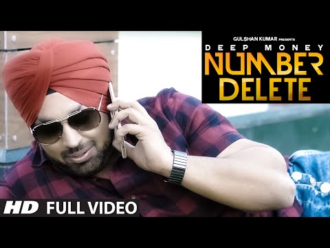 Thumbnail: Deep Money: Number Delete Full Song | New Punjabi Song | T-Series Apnapunjab