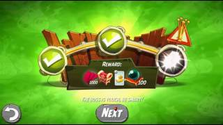 Beat The Daily Challenge King Pig Panic Completed in Angry Birds 2 SUNDAY 2