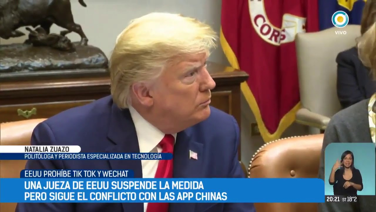EEUU prohíbe Tik Tok y WeChat