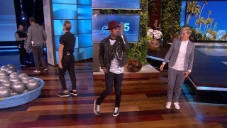 Exclusive: Ellen Breaks It Down with Ne-Yo and Derek Hough