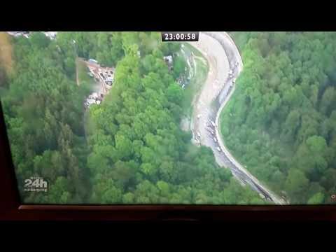 Nurburgring 24 Hours 2016 crash scenes