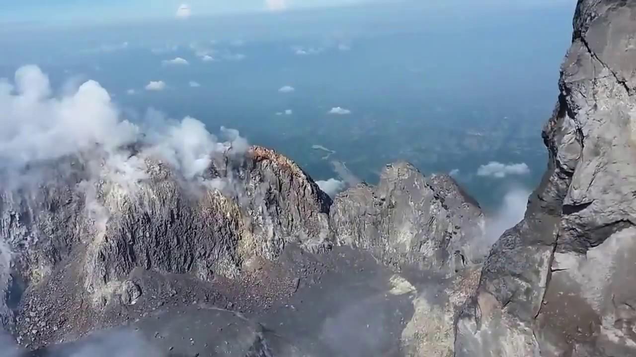 Puncak Kawah Gunung Merapi 2017 YouTube