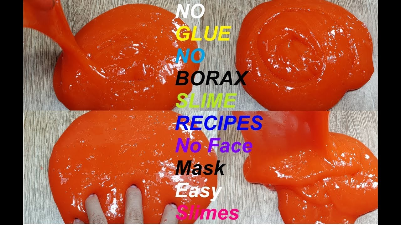 Strapless Adhesive Face Mask