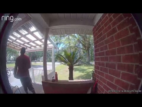 Package theft caught on camera in Cedar Hills
