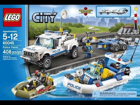 Lego city Police set #60045 Timelapse