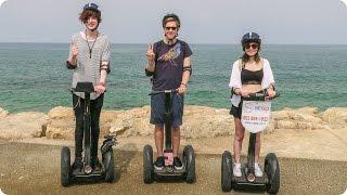 Segway Tour of Jaffa!   Evan Edinger Travel