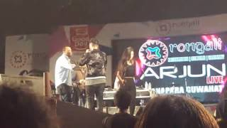 2nd Video of Arjun's performance in Guwahati at Rongali stage...