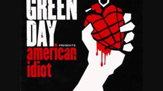 Green Day - Boulevard Of Broken Dreams (Drums Backing Track)
