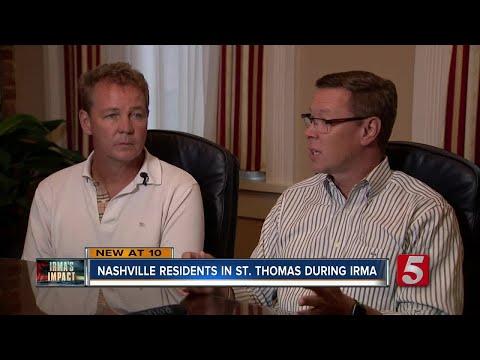 Two Nashvillians Survive Hurricane Irma In St. Thomas