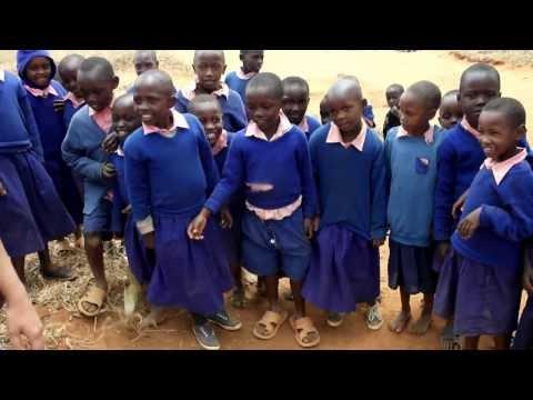 Kenyan Children's Response to Meeting a Caucasian