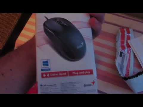 Миша Genius DX-110 PS/2 Black (31010116106)