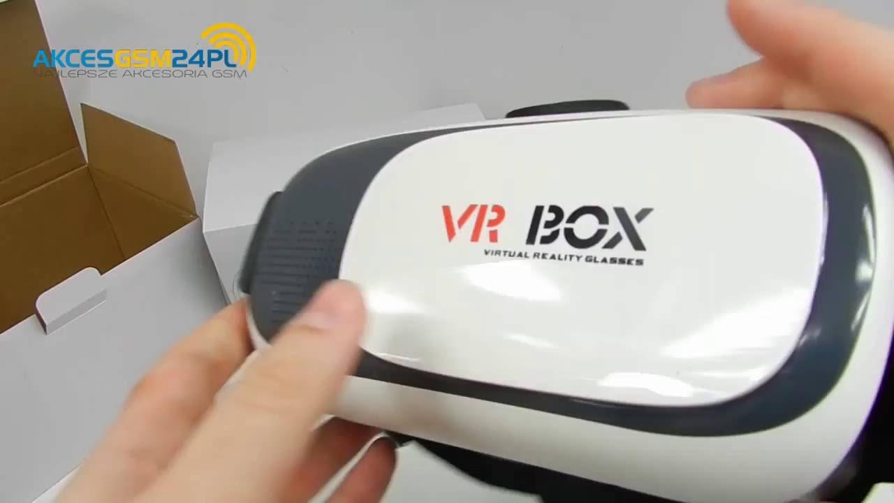 Vr Box V20 Okulary Wirtualnej Rzeczywistości Dla Androida I Ios