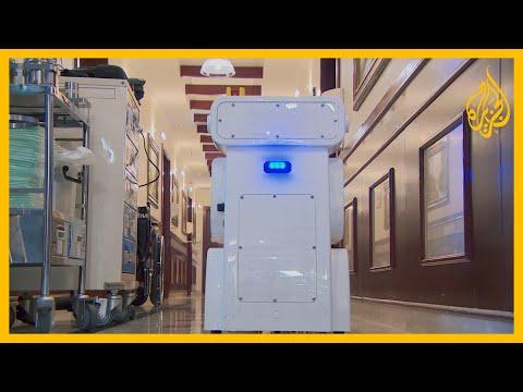 تم اختراعها في جامعة قطر.. روبوتات لمكافحة كورونا ????  - نشر قبل 2 ساعة
