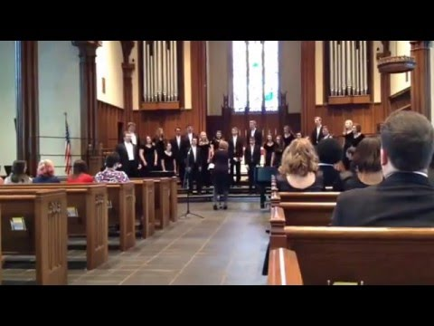 """The Coolin""from Reincarnations by Samuel Barber. East Burke High School Chamber Singers 03/03/2016"