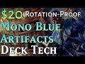 Mtg Budget Deck Tech: $20 Rotation-Proof Mono-Blue Artifacts!