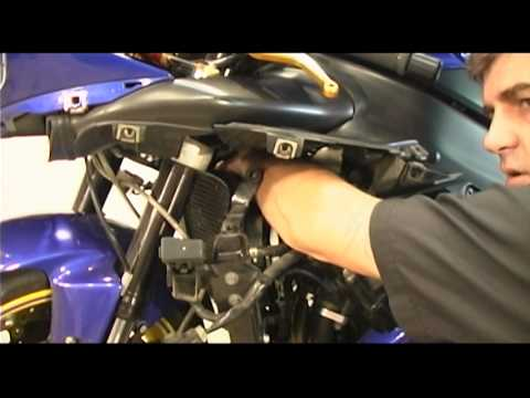 How To Change Spark Plugs on Yamaha R1 - R1Videos - YouTube