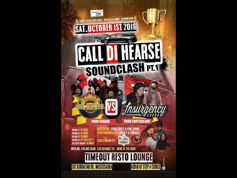 Call Di Hearse Sound Clash Pt. 1 - Soul Survival vs Insurgency Sound