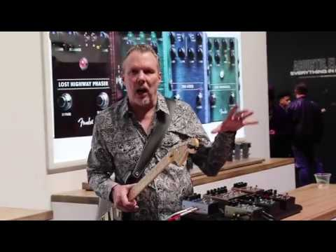 Fender New Pedals at Winter NAMM 2019