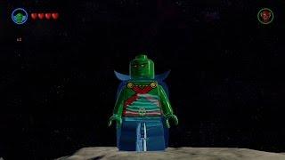 LEGO Batman 3: Beyond Gotham - Martian Manhunter Free Roam Gameplay [HD]