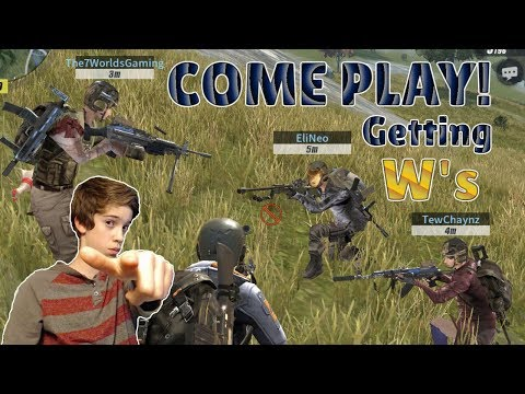 Rules of Survival Livestream -  SQUADS WITH SUBSCRIBERS! Pickin' Up Wins!