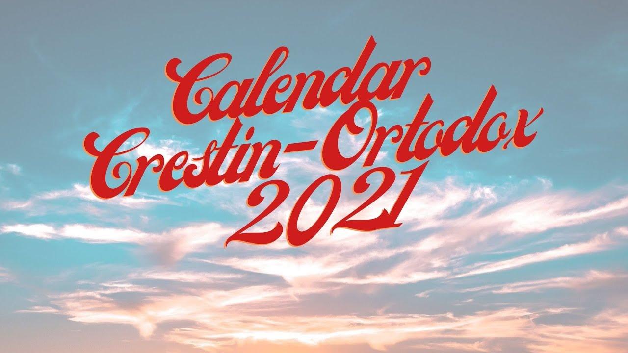 Calendar Ortodox 2021 Ianuarie : Download Calendar Ortodox ...