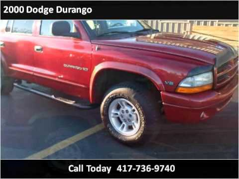 Cars R Us Strafford Mo >> 2000 Dodge Durango Used Cars Strafford Mo Youtube