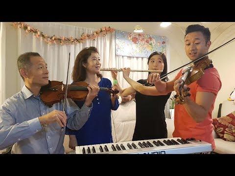 《說散就散 + 我們不一樣 + 家家酒》【Sam Lin Family Cover】